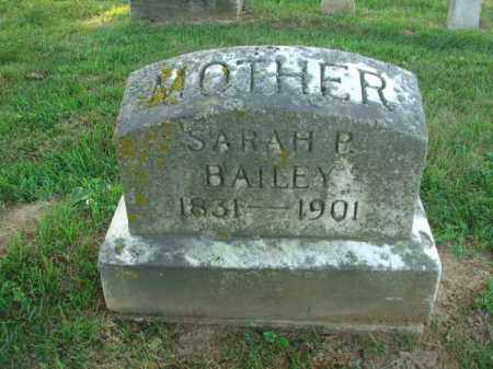 BAILEY, SARAH P. - Fairfield County, Ohio | SARAH P. BAILEY - Ohio Gravestone Photos