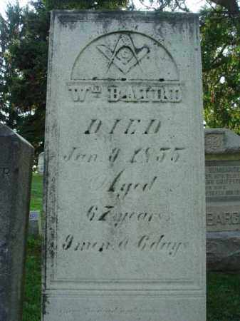 BAIRD, WILLLIAM - Fairfield County, Ohio   WILLLIAM BAIRD - Ohio Gravestone Photos