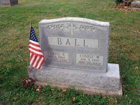 BALL, LOUISE W. - Fairfield County, Ohio | LOUISE W. BALL - Ohio Gravestone Photos