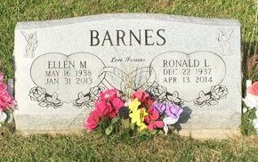 BARNES, ELLEN M - Fairfield County, Ohio | ELLEN M BARNES - Ohio Gravestone Photos