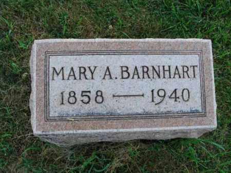 BARNHART, MARY A. - Fairfield County, Ohio | MARY A. BARNHART - Ohio Gravestone Photos
