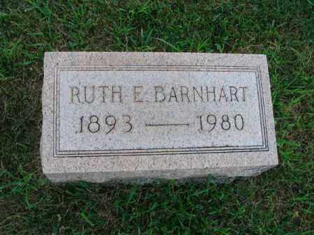 BARNHART, RUTH E. - Fairfield County, Ohio | RUTH E. BARNHART - Ohio Gravestone Photos