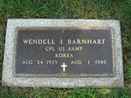 BARNHART, WENDELL I. - Fairfield County, Ohio | WENDELL I. BARNHART - Ohio Gravestone Photos