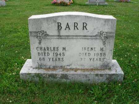 BARR, CHARLES M. - Fairfield County, Ohio   CHARLES M. BARR - Ohio Gravestone Photos