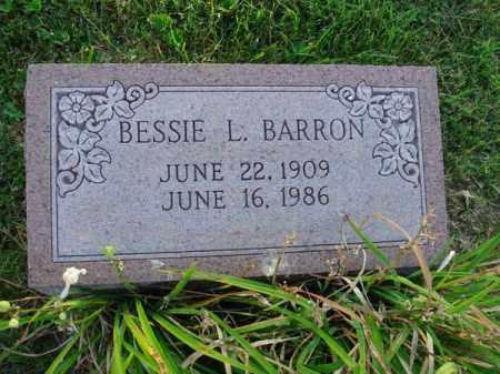 BARRON, BESSIE L. - Fairfield County, Ohio   BESSIE L. BARRON - Ohio Gravestone Photos