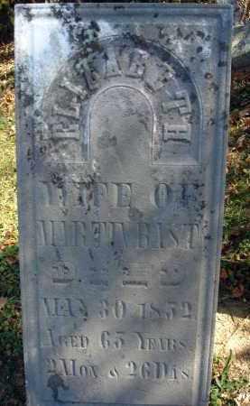 BAST, ELIZABETH - Fairfield County, Ohio | ELIZABETH BAST - Ohio Gravestone Photos