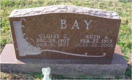 BAY, CLOISE C. - Fairfield County, Ohio | CLOISE C. BAY - Ohio Gravestone Photos