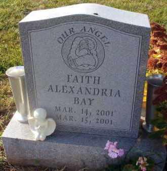 BAY, FAITH ALEXANDRIA - Fairfield County, Ohio   FAITH ALEXANDRIA BAY - Ohio Gravestone Photos