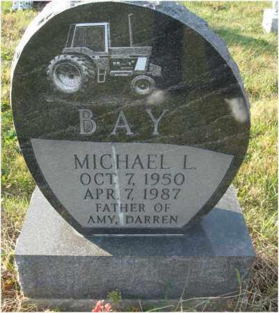 BAY, MICHAEL L. - Fairfield County, Ohio | MICHAEL L. BAY - Ohio Gravestone Photos