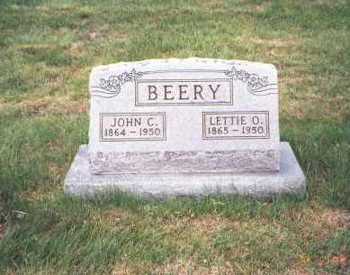 BEATTY BEERY, LETTIE O. - Fairfield County, Ohio   LETTIE O. BEATTY BEERY - Ohio Gravestone Photos