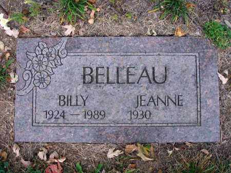 BELLEAU, BILLY - Fairfield County, Ohio | BILLY BELLEAU - Ohio Gravestone Photos