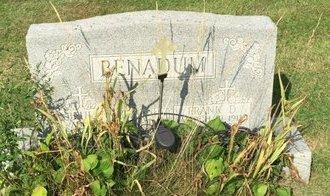BENADUM, FRANK D. - Fairfield County, Ohio | FRANK D. BENADUM - Ohio Gravestone Photos