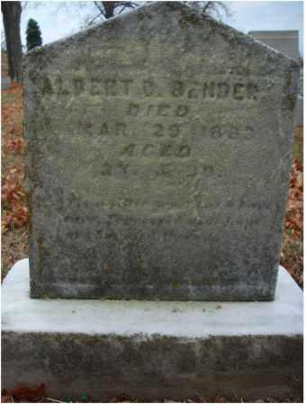 BENDER, ALBERT C. - Fairfield County, Ohio   ALBERT C. BENDER - Ohio Gravestone Photos