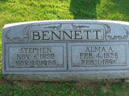BENNETT, ALMA A. - Fairfield County, Ohio | ALMA A. BENNETT - Ohio Gravestone Photos