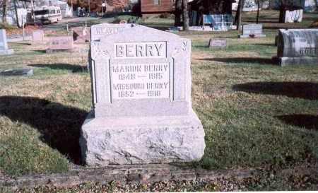 BERRY, MISSOURI - Fairfield County, Ohio | MISSOURI BERRY - Ohio Gravestone Photos