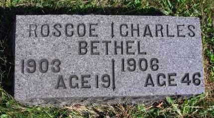 BETHEL, CHARLES - Fairfield County, Ohio | CHARLES BETHEL - Ohio Gravestone Photos