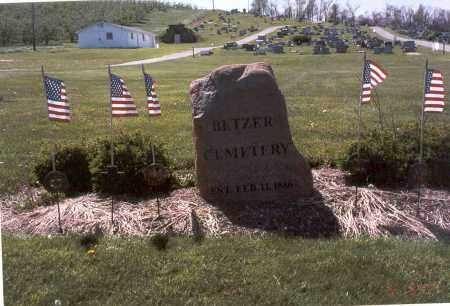 BETZER, CEMETERY - Fairfield County, Ohio | CEMETERY BETZER - Ohio Gravestone Photos