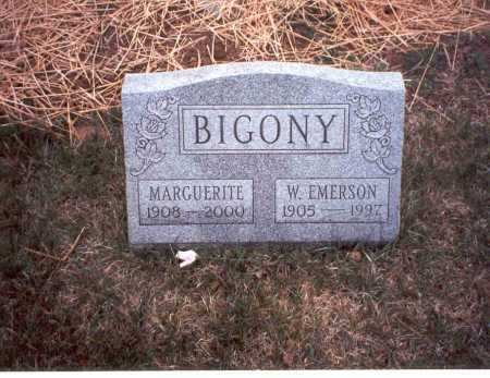 BIGONY, MARGUERITE - Fairfield County, Ohio | MARGUERITE BIGONY - Ohio Gravestone Photos