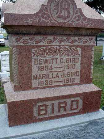 BIRD, MARILLA J. - Fairfield County, Ohio | MARILLA J. BIRD - Ohio Gravestone Photos