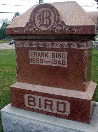 BIRD, FRANK - Fairfield County, Ohio | FRANK BIRD - Ohio Gravestone Photos