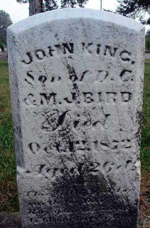 BIRD, JOHN KING - Fairfield County, Ohio | JOHN KING BIRD - Ohio Gravestone Photos