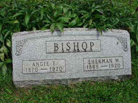 BISHOP, SHERMAN W. - Fairfield County, Ohio | SHERMAN W. BISHOP - Ohio Gravestone Photos