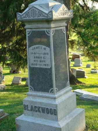 BLACKWOOD, ANNA E. - Fairfield County, Ohio | ANNA E. BLACKWOOD - Ohio Gravestone Photos