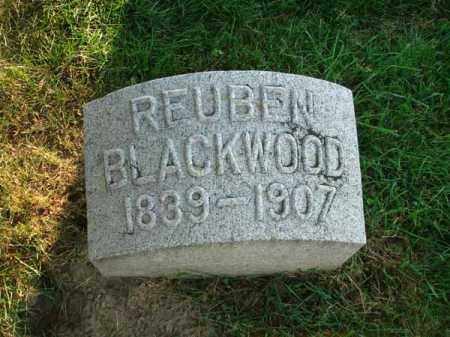 BLACKWOOD, REUBEN - Fairfield County, Ohio | REUBEN BLACKWOOD - Ohio Gravestone Photos