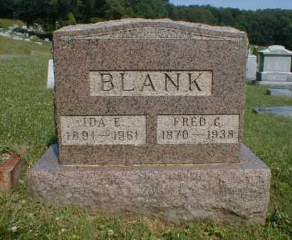 BLANK, FREDERICK - Fairfield County, Ohio | FREDERICK BLANK - Ohio Gravestone Photos