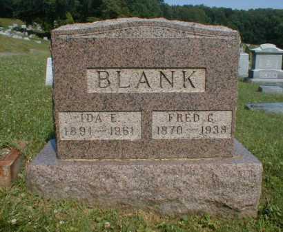 BLANK, IDA - Fairfield County, Ohio | IDA BLANK - Ohio Gravestone Photos