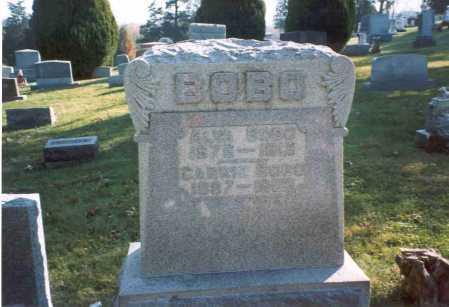 BOBO, ALVA - Fairfield County, Ohio   ALVA BOBO - Ohio Gravestone Photos