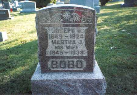BOBO, JOSEPH H. - Fairfield County, Ohio | JOSEPH H. BOBO - Ohio Gravestone Photos