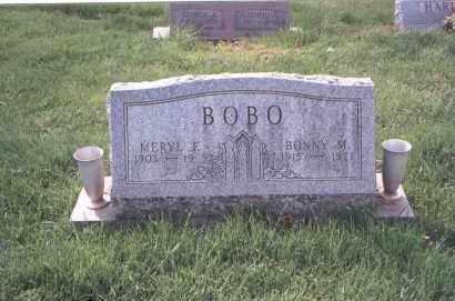 JONES BOBO, BONALAND MAY - Fairfield County, Ohio | BONALAND MAY JONES BOBO - Ohio Gravestone Photos