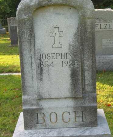 BOCH, JOSEPHINE - Fairfield County, Ohio | JOSEPHINE BOCH - Ohio Gravestone Photos