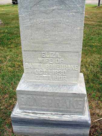 BONEBRAKE, ELIZA - Fairfield County, Ohio | ELIZA BONEBRAKE - Ohio Gravestone Photos