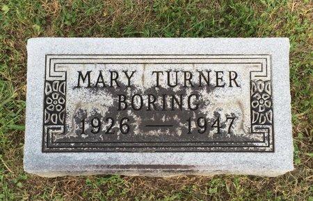 BORING, MARY - Fairfield County, Ohio | MARY BORING - Ohio Gravestone Photos