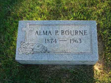 BOURNE, ALMA P. - Fairfield County, Ohio | ALMA P. BOURNE - Ohio Gravestone Photos