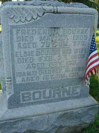 BOURNE, FREDERICK - Fairfield County, Ohio | FREDERICK BOURNE - Ohio Gravestone Photos
