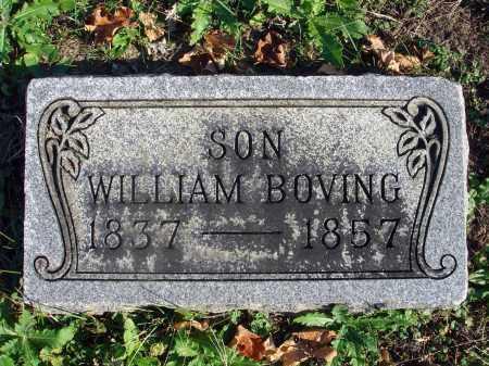 BOVING, WILLIAM - Fairfield County, Ohio | WILLIAM BOVING - Ohio Gravestone Photos