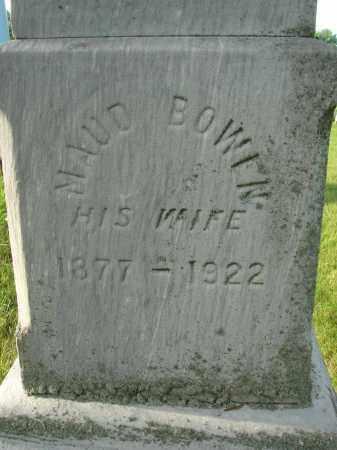 BOWEN, MAUD - Fairfield County, Ohio   MAUD BOWEN - Ohio Gravestone Photos