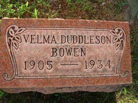 BOWEN, VELMA - Fairfield County, Ohio | VELMA BOWEN - Ohio Gravestone Photos