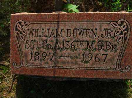 BOWEN, WILLIAM JR. - Fairfield County, Ohio | WILLIAM JR. BOWEN - Ohio Gravestone Photos