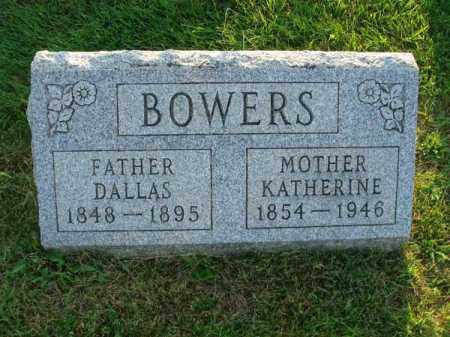 BOWERS, DALLAS - Fairfield County, Ohio | DALLAS BOWERS - Ohio Gravestone Photos