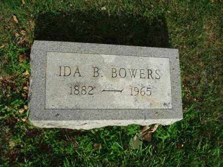 BOWERS, IDA B. - Fairfield County, Ohio | IDA B. BOWERS - Ohio Gravestone Photos