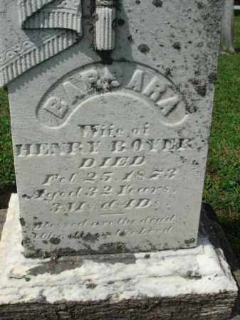 BOYER, BARBARA - Fairfield County, Ohio   BARBARA BOYER - Ohio Gravestone Photos