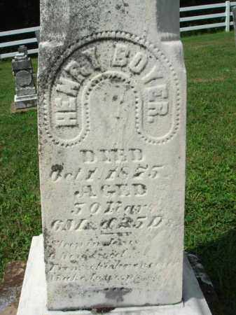 BOYER, HENRY - Fairfield County, Ohio   HENRY BOYER - Ohio Gravestone Photos