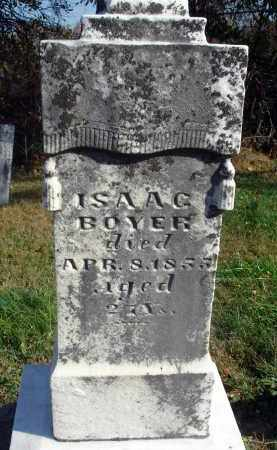 BOYER, ISAAC - Fairfield County, Ohio | ISAAC BOYER - Ohio Gravestone Photos