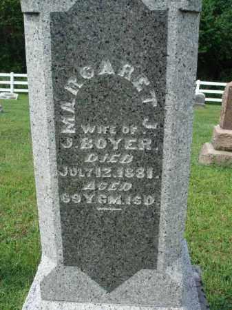 BOYER, MARGARET J. - Fairfield County, Ohio | MARGARET J. BOYER - Ohio Gravestone Photos