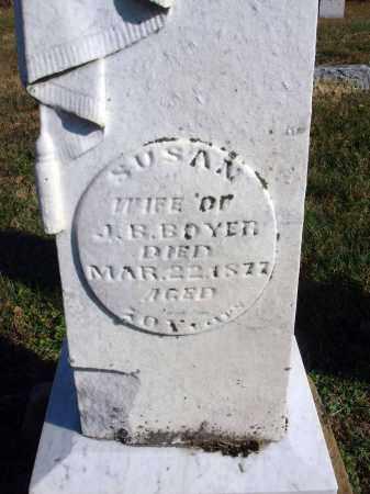 BOYER, SUSAN - Fairfield County, Ohio | SUSAN BOYER - Ohio Gravestone Photos