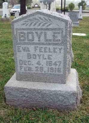 BOYLE, EVA - Fairfield County, Ohio | EVA BOYLE - Ohio Gravestone Photos